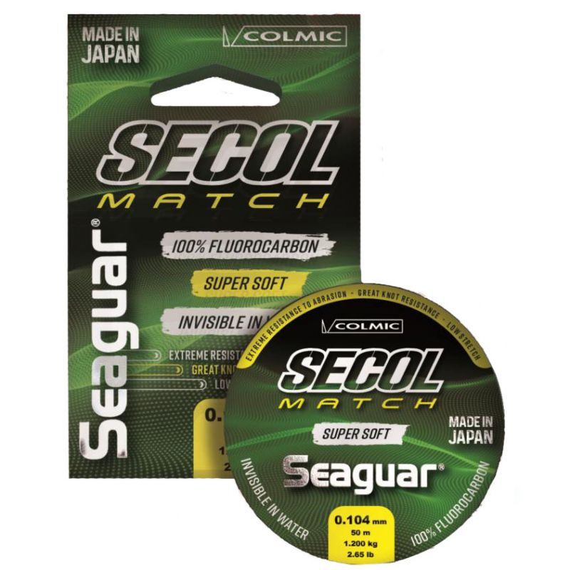 SEAGUAR SECOL MATCH 100% FLUOROCARBON MADE IN JAPAN