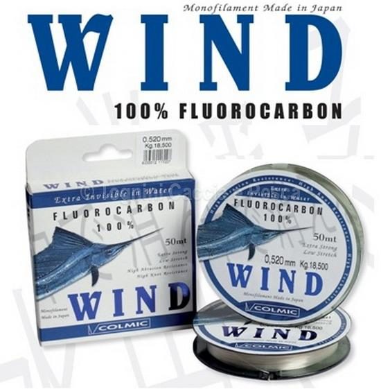 colmic wind fluorocarbon 50 mt